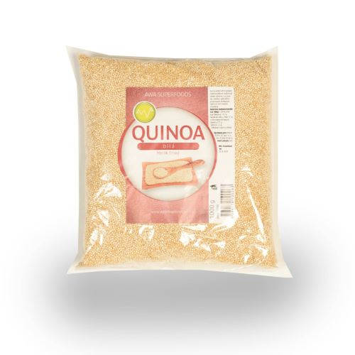 Quinoa bílá, 1000g, AWA Superfood
