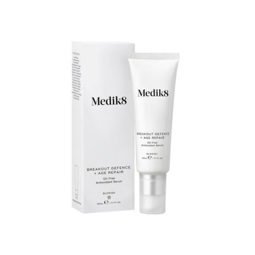 Medik8 breakout defence + age repair gel 50ml