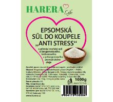 "Epsomská sůl do koupele ""Anti-stress"" 1000g"
