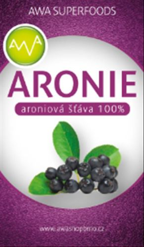 AWA superfoods Šťáva z arónie 600ml
