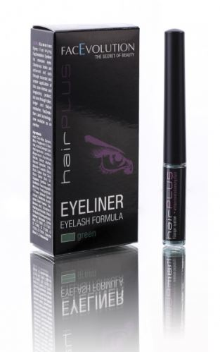 Hairplus EYELINER zelený 1,5 ml