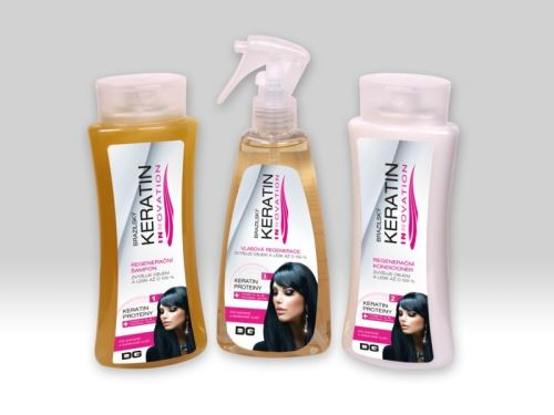 Brazilský keratin INNOVATION set 3ks