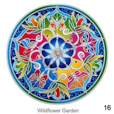 Mandala Sunseal V Windflower Garden